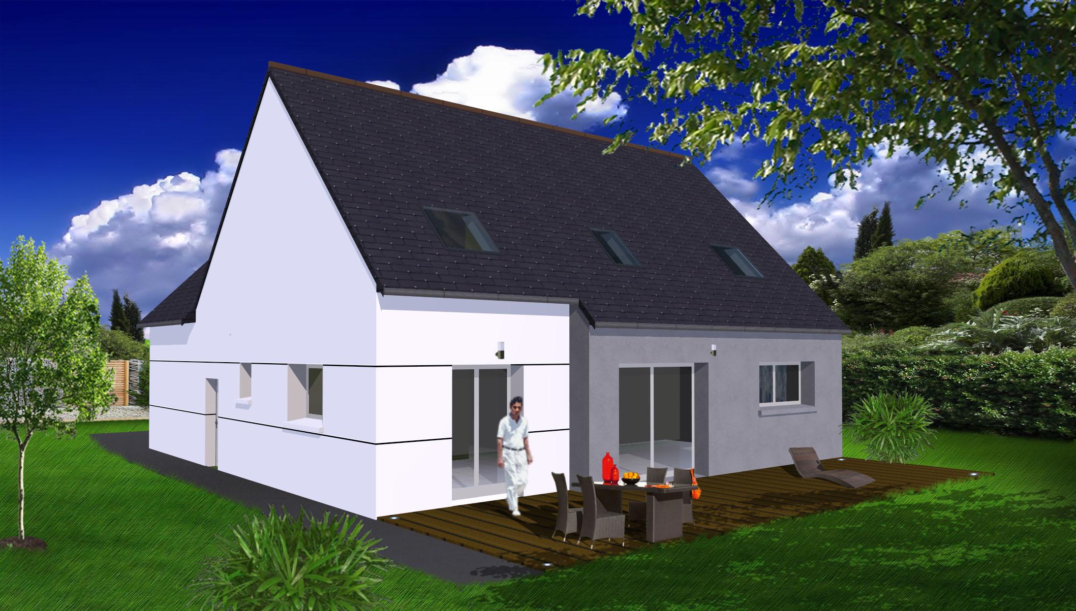 prix d une maison bbc de 100m2 stunning cout d une maison neuve cout maison combien coute une. Black Bedroom Furniture Sets. Home Design Ideas