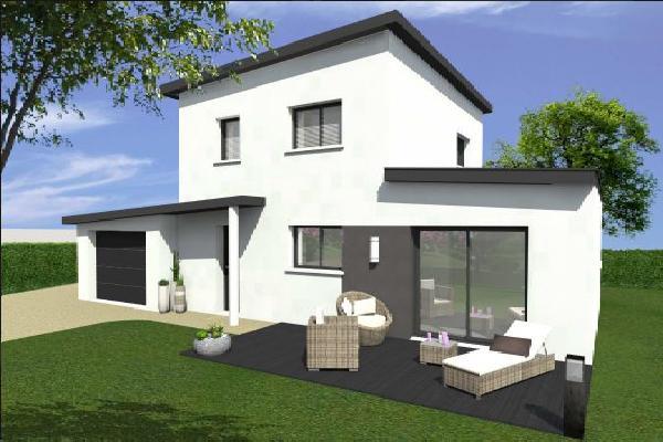 Offres projets de construction terrain maison - Maison sur terrain rectangulaire ...