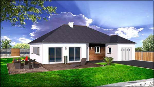 terrain 410 m les maisons fran ois l on finist re morbihan. Black Bedroom Furniture Sets. Home Design Ideas