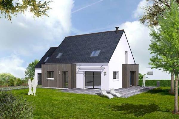 Prix maison neuve 100m2 for Prix facade maison 100m2