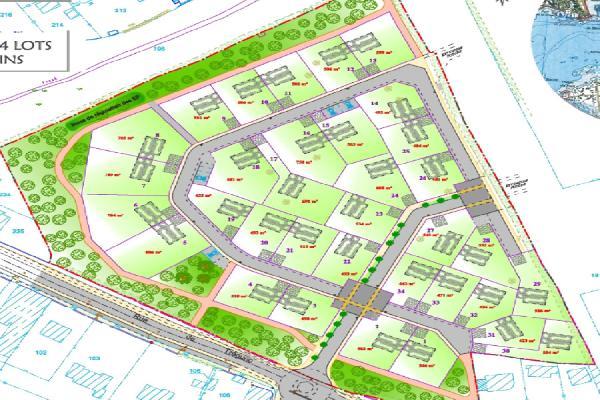 A vendre terrains  Concarneau terrain constructible