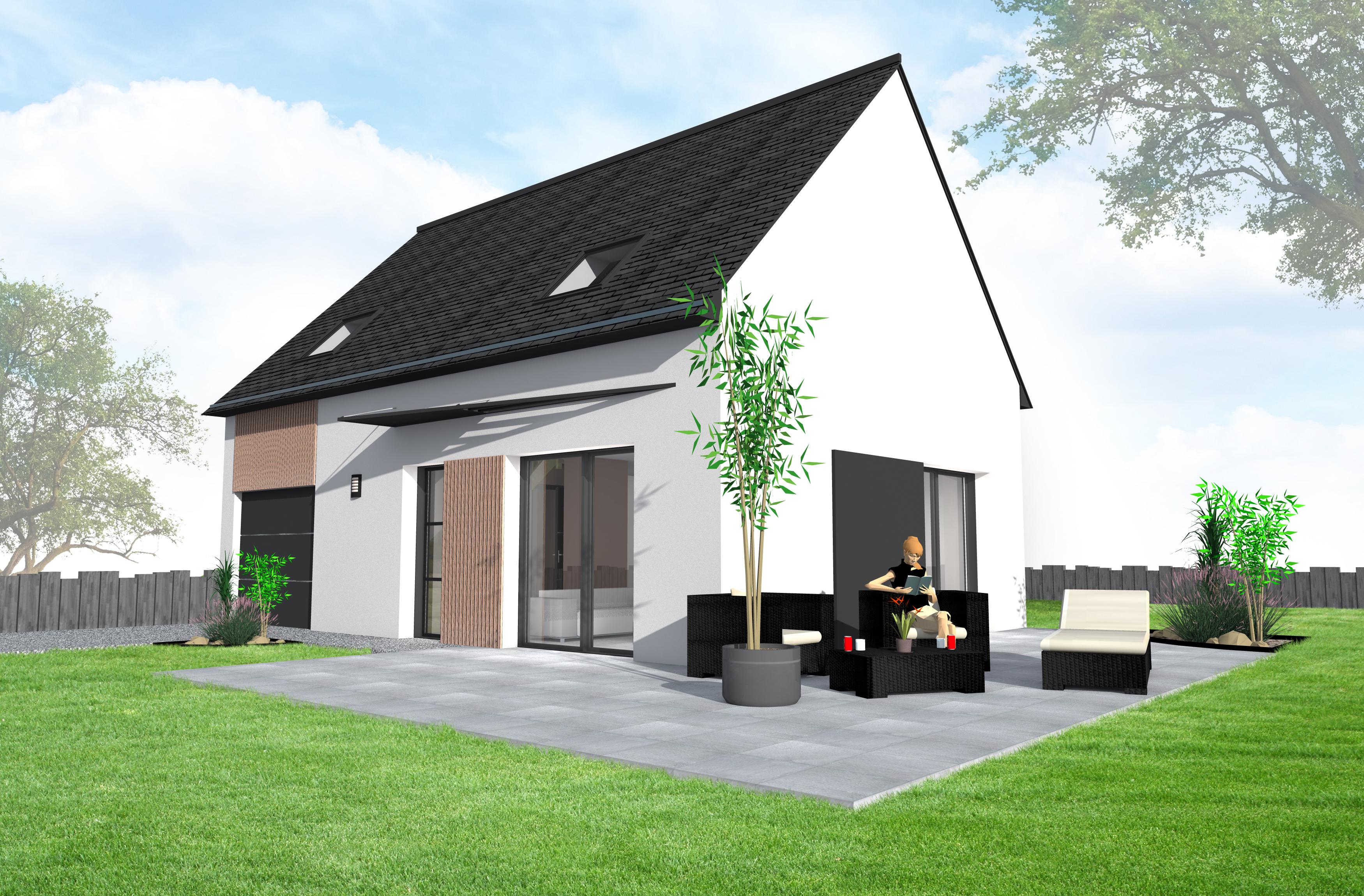 frais construction maison neuve maison moderne